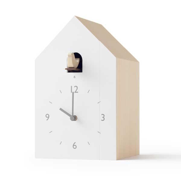 レムノス Lemnos クロック Clock ブックエンド cuckoo-collection bookend NL19-01 *受注後に納期をお知らせ致します。
