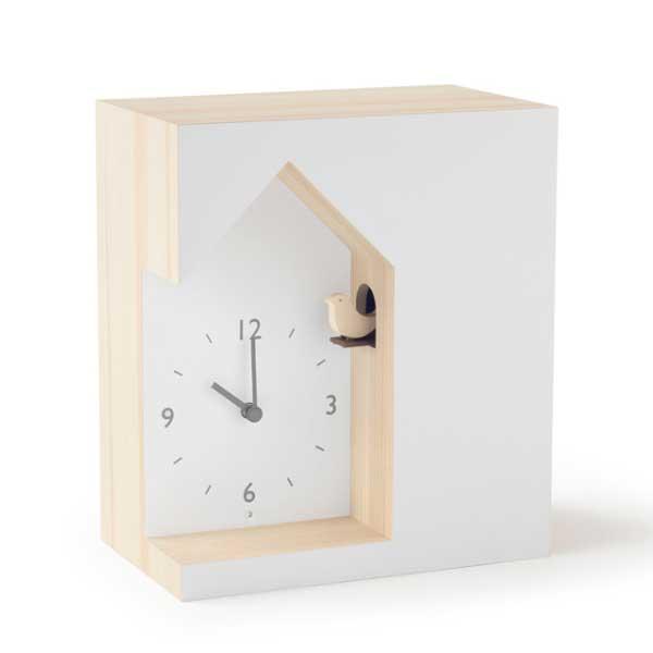 レムノス Lemnos クロック Clock cuckoo-collection dent デント NL19-03 *受注後に納期をお知らせ致します。