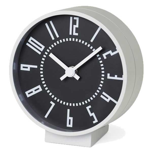 レムノス Lemnos 置時計 エキクロック eki clock s ブラック TIL19-08 BK ※受注後に納期をお知らせ致します。