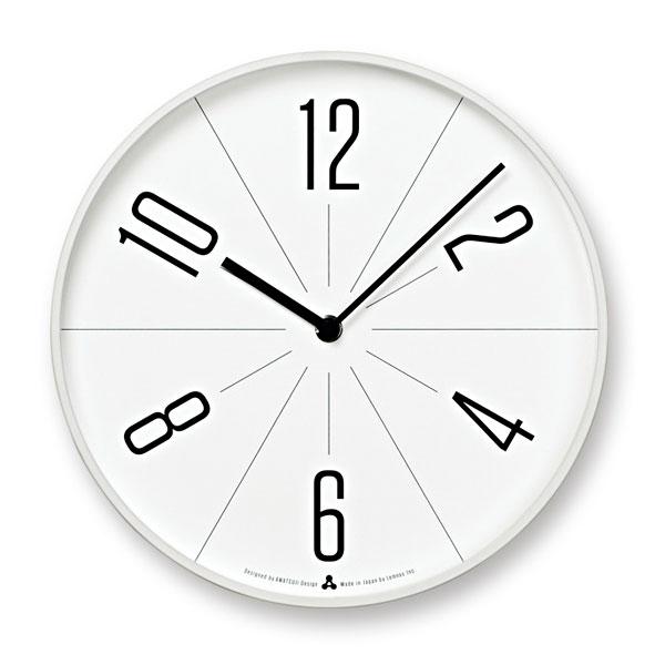 レムノスLemnosクロックClock掛け時計GUGUAWA13-02 WHホワイト【送料無料】*受注後に納期をお知らせ致します。