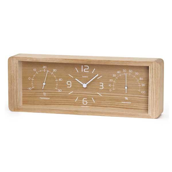 レムノス Lemnos クロック Clock 置き時計 Yokan ヨーカン LC11-06 NT ナチュラル *受注後に納期をお知らせ致します。