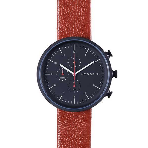ヒュッゲ HYGGE 腕時計 Horizon ホライズン HGE020078 Brown 【送料無料】