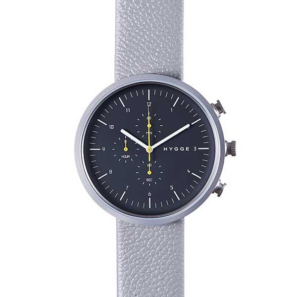 ヒュッゲ HYGGE 腕時計 Horizon ホライズン HGE020079 Dark Grey 【送料無料】
