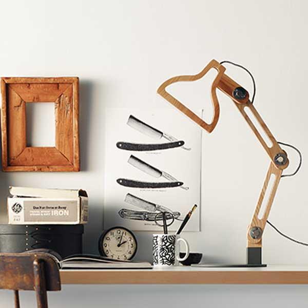 recolte レコルト Lumiere ルミエール Pollux Table Light ポルックスLED テーブルライト ブラック&ホワイト LPO-T(BW) 【送料無料】