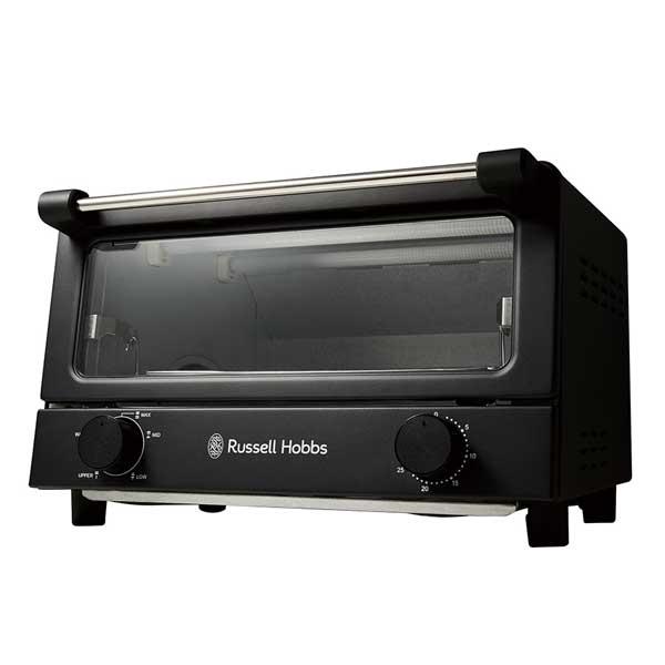 ラッセルホブス Russell Hobbs オーブントースター Oven Toaster ブラック 7740JP-BK 【送料無料】