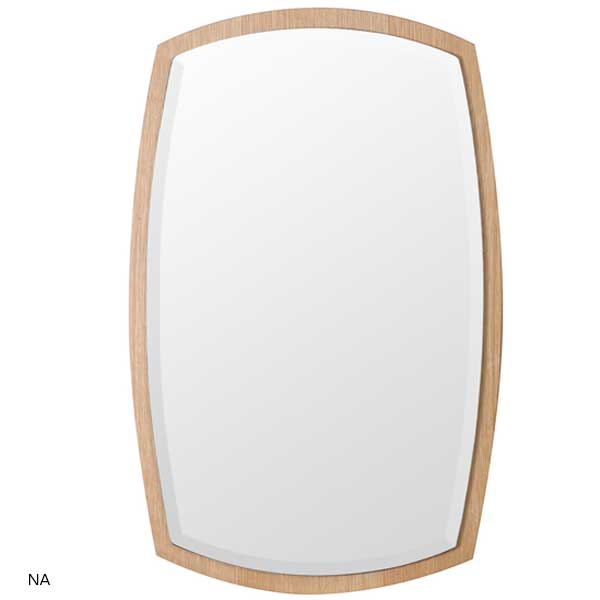 塩川光明堂 wall mirror ウォールミラー アルク No.2 カラー:NA BR【送料無料】【ラッピング不可】【代引不可】