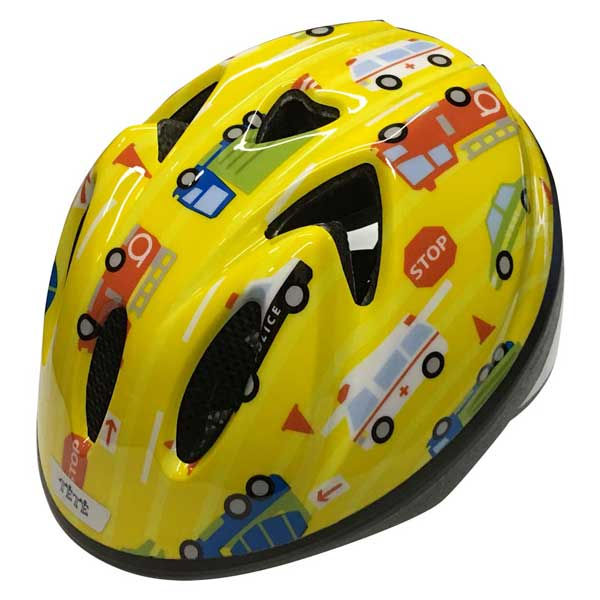 安全 快適 新作入荷!! かわいいヘルメット TETE テテ ヘルメット Sサイズ はたらく車2 スプラッシュハート Heart Splash セール開催中最短即日発送