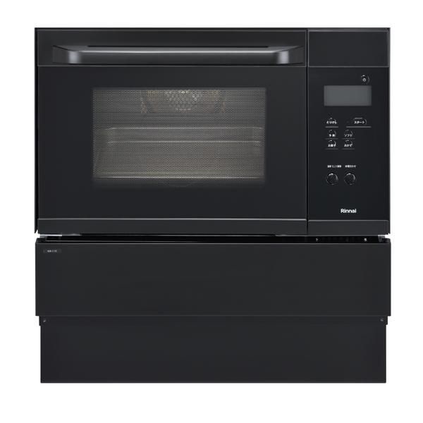 ガスオーブン リンナイ RSR-S14C-B(ブラック)ビルトインガスオーブン 【オーブン単機能】ビルトインオーブン ガスオーブン ビルトイン ガスレンジ コンベクションオーブン 取り付け 取り換え工事承ります