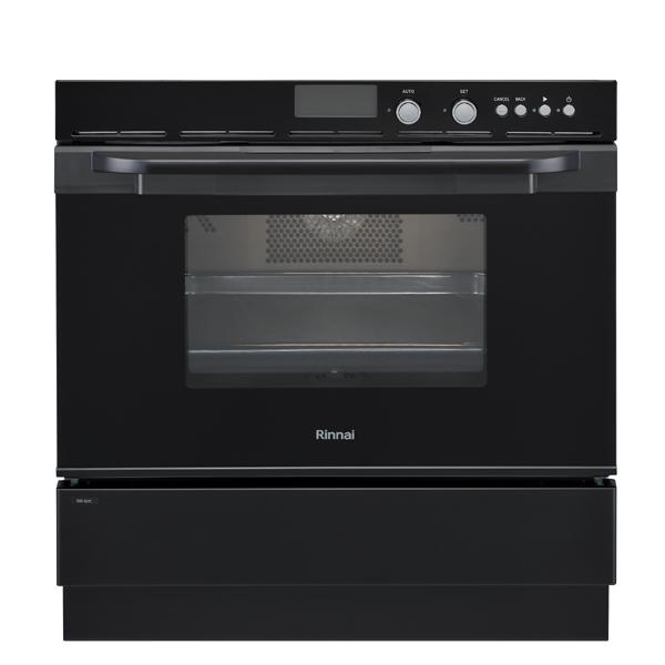 ガスオーブン[単機能] リンナイ RSR-S51C-B(ブラック)ビルトインガスオーブン 【オーブン単機能】ビルトインオーブン ガスオーブン ビルトイン ガスレンジ コンベクションオーブン 取り付け 取り換え工事承ります