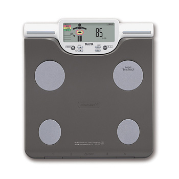 Tanita TANITA body composition Analyzer and BC-612-GD of measuring inner scan V different parts of body fat scale left