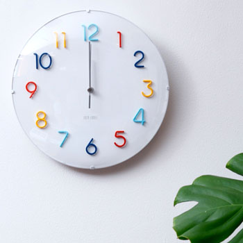 Clock Radio Clock Cool Cute IDEA Idea Radio Round Walk Rock Colorful  LCR113 CF Wall ...