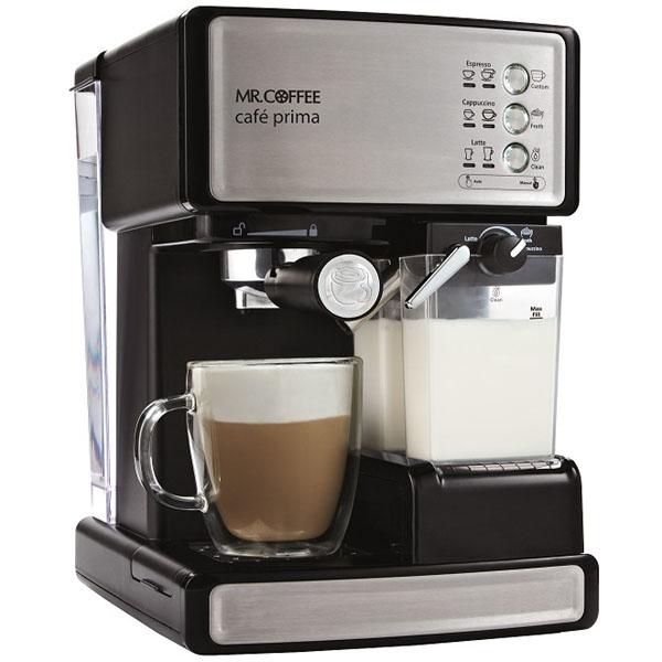ミスターコーヒーMR.COFFEE カフェプリマ エスプレッソマシン全自動ミルク泡立て簡単カプチーノメーカー BVMCEM6601J エスプレッソメーカー エスプレッソマシーン【送料無料】カプチーノ カフェラテメーカー カプチーノメーカー