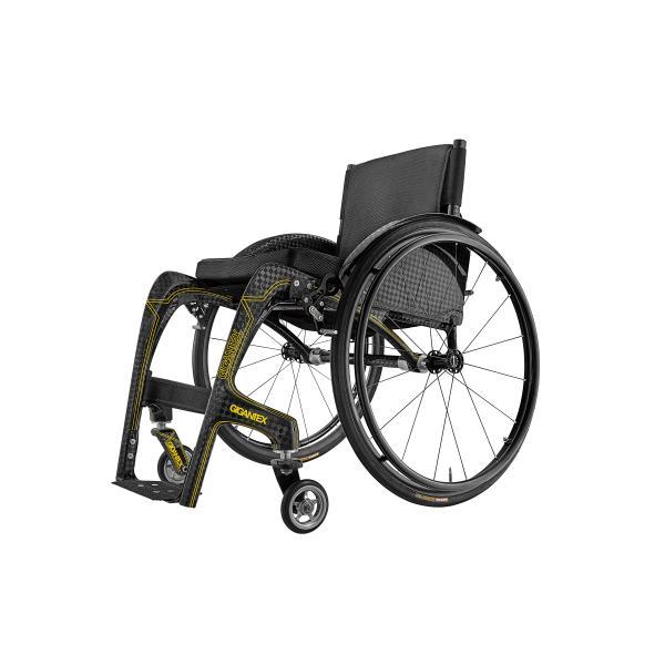 車椅子 GIGANTEX社 カーボン 一体型 車椅子 MF015