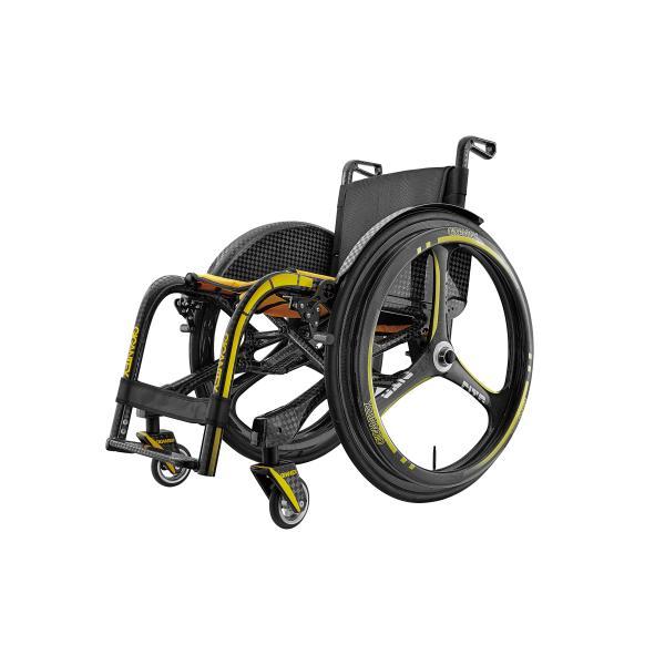 車椅子 GIGANTEX社 カーボン 折り畳み式 車椅子 MF012+WH277(ホイール24インチ)