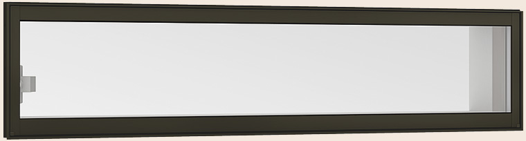 サーモスII-H 開店祝い 高所用横すべり出し窓 オペレーターハンドル 一般複層ガラス 入手困難 アルミスペーサー仕様 069028 リクシル H:350mm × W:730mm LIXIL