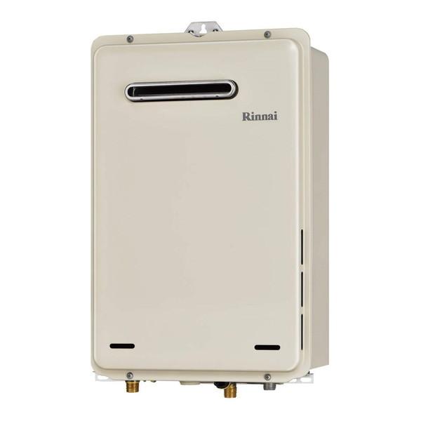 リンナイ Rinnai 16号 屋外壁掛 PS設置型 ガス給湯器 給湯専用 RUX-A1615W-E DIY リフォーム