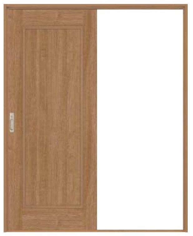 史上一番安い ハピア 音配慮ドア 居室タイプ 引戸・片引 01デザイン 鍵付き 2000高 沓摺付き四方枠 リビングドア hapia 大建工業 DAIKEN, MAMA KIN' 1d7e756e