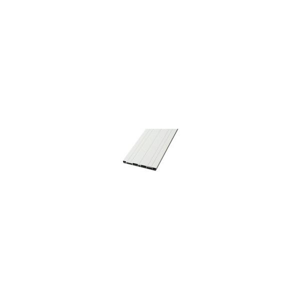 リフォーム商品 マツ六 ソフトアクアレール用ベースプレート BP-1 ホワイト 2m DIY リフォーム
