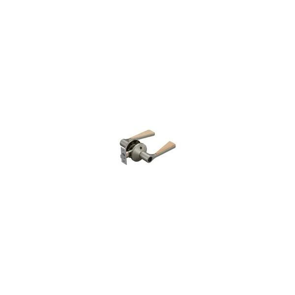 リフォーム商品 マツ六 兼用バリアフリーレバーHB間仕切錠 EL5060-3MH-NSNC Nシルバー+Nクリア DIY リフォーム