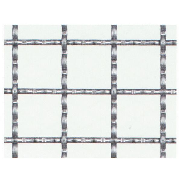 【工作用金網 亜鉛引クリンプ金網】 径2.0mm×15mm目 910mm×15m DIY リフォーム