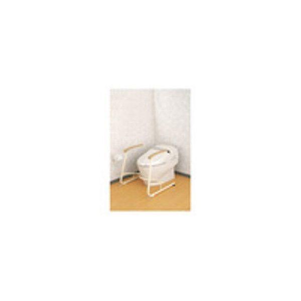 【リフォーム用品】アロン化成 安寿 トイレ用立ち上がり補助フレーム SS-K(スチール製)[533-079] DIY リフォーム