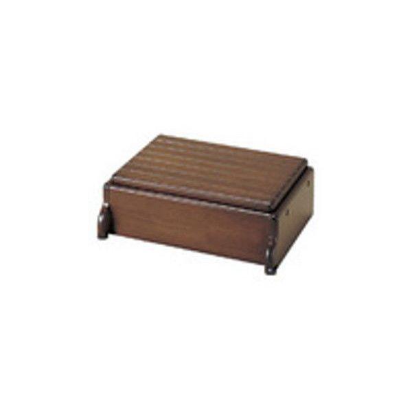 【リフォーム用品】アロン化成 安寿 木製玄関台S45W-30-1段 (ブラウン)[535-570] DIY リフォーム