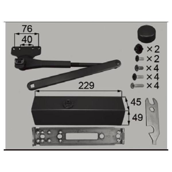リクシル 部品 ドアクローザセット □ -0001-DVAA LIXIL トステム メンテナンス DIY リフォーム