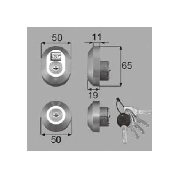 リクシル 部品 シリンダーセットDN D5GZ30 LIXIL トステム メンテナンス DIY リフォーム