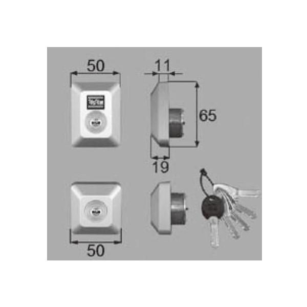 リクシル 部品 シリンダーセットDN D5GZ300 LIXIL トステム メンテナンス DIY リフォーム