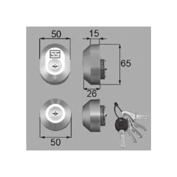 リクシル 部品 シリンダーセットDN DDZZ30 LIXIL トステム メンテナンス DIY リフォーム