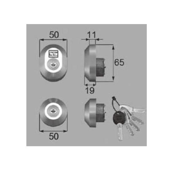 リクシル 部品 シリンダーセットDN DRZZ300 LIXIL トステム メンテナンス DIY リフォーム