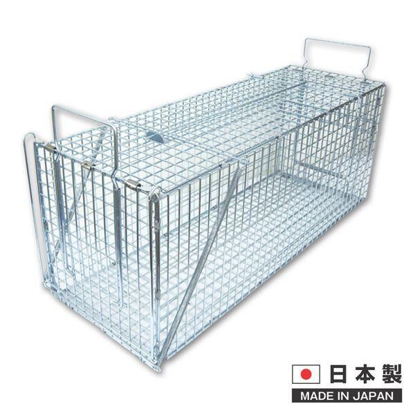 動物捕獲器 捕獲器:ジャンボRB61 200×200×610mm 2個入り DIY リフォーム