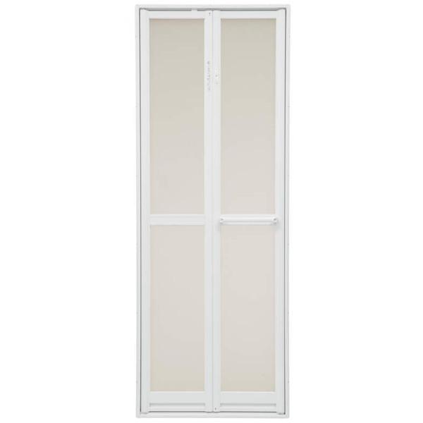 三協 アルミ 浴室折ドア 樹脂パネル付き 外付型0720:[幅706mm×高1794.5mm] DIY リフォーム