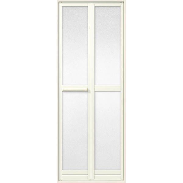 浴室中折ドア SF型 内付型 樹脂パネル入 完成品 0718 W:750mm × H:1,818mm LIXIL リクシル TOSTEM トステム DIY リフォーム
