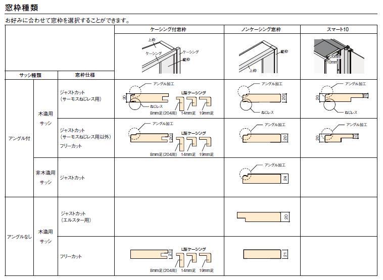 DS窓枠 ジャストカット仕様 3方ケーシング付 デュオ・シンフォニー用 18315 157mm幅 リクシル LIXIL トステム TOSTEM