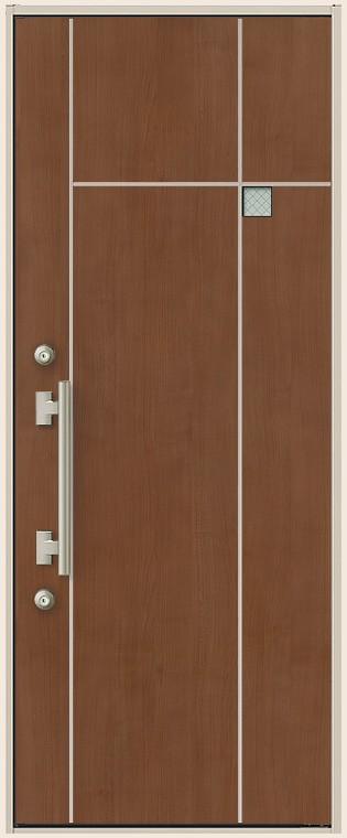 ES玄関ドア 非防火 13型 片開きドア K4仕様 W:841mm 100%品質保証 × H:2 LIXIL 通販 118mm トステム リクシル TOSTEM