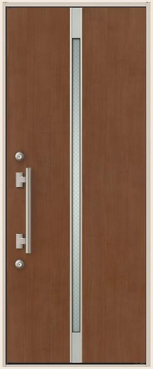 ES玄関ドア 非防火 送料無料激安祭 15型 片開きドア K4仕様 W:841mm × H:2 トステム リクシル 118mm 評判 TOSTEM LIXIL