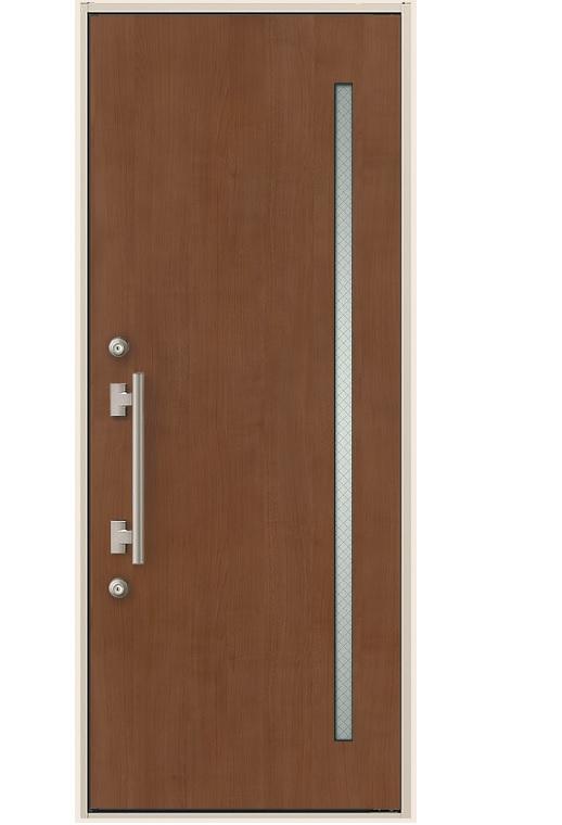 玄関ドア リクシル ES玄関ドア 片開きドア 11型 K3仕様 幅841mm×高2118mm DIY リフォーム
