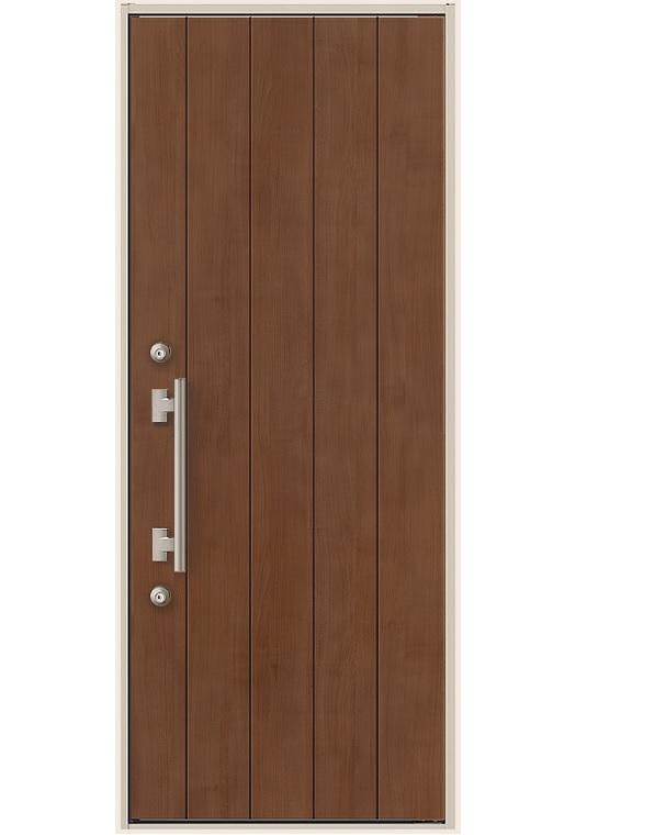 玄関ドア リクシル ES玄関ドア 片開きドア 14型 K3仕様 幅841mm×高2118mm DIY リフォーム