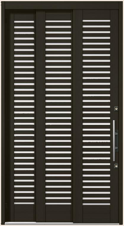 エレンゼ K6 10型 袖付2枚引 ランマなし 12422 玄関 引き戸 LIXIL リクシル TOSTEM トステム DIY リフォーム