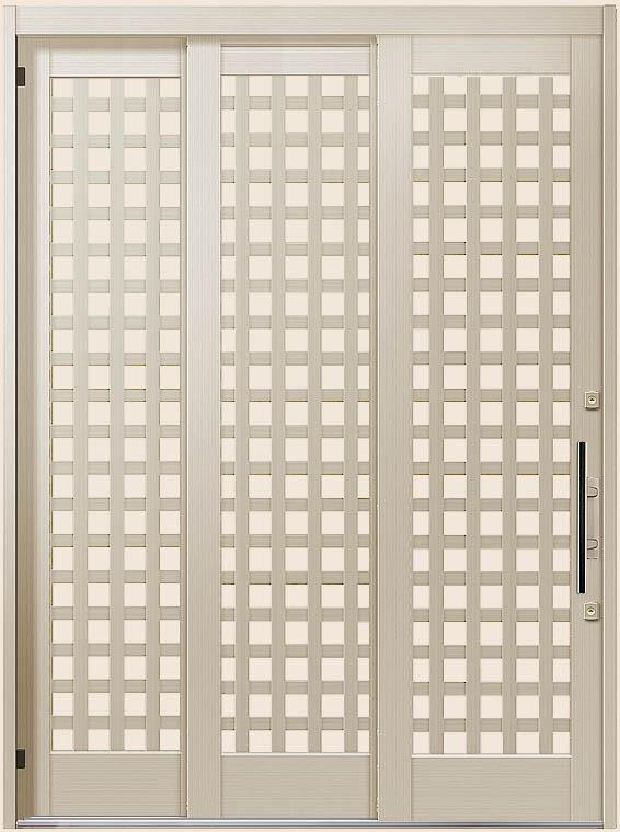 エレンゼ K6 11型 袖付2枚引 ランマなし 16422 / 16922 玄関 引き戸 LIXIL リクシル TOSTEM トステム
