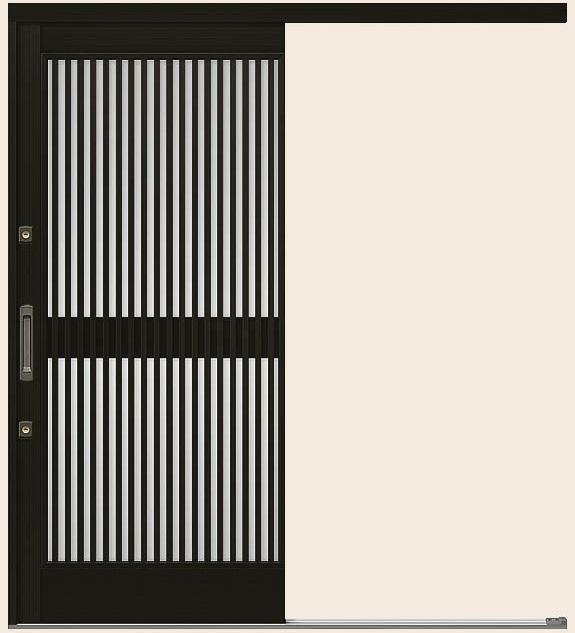 玄関引戸 光悦 K6 一筋片引き戸 50型 千本格子 ランマなし 16918 W:1,692mm × H:1,873mm LIXIL リクシル TOSTEM トステム