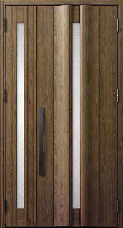 玄関ドアDA V12型 K2仕様 親子ドア 特注サイズ W:1,002~1,390mm × H:1,813~2,413mm LIXIL リクシル TOSTEM トステム