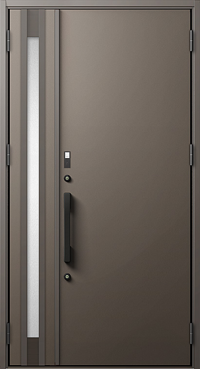 玄関ドアDA V20型 K4仕様 親子ドア FamiLockプラン仕様 W:1,240mm×H:2,330mm LIXIL リクシル TOSTEM トステム