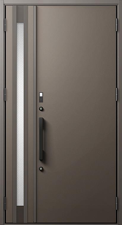 玄関ドアDA防火戸 V20型 K2仕様 親子ドア FamiLockプラン仕様 W:1,240mm×H:2,330mm LIXIL リクシル TOSTEM トステム