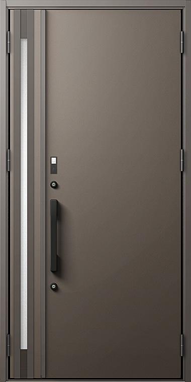 玄関ドアDA V20型 K2仕様 親子ドア 入隅タイプ FamiLockプラン仕様 W:1,138mm×H:2,330mm LIXIL リクシル TOSTEM トステム