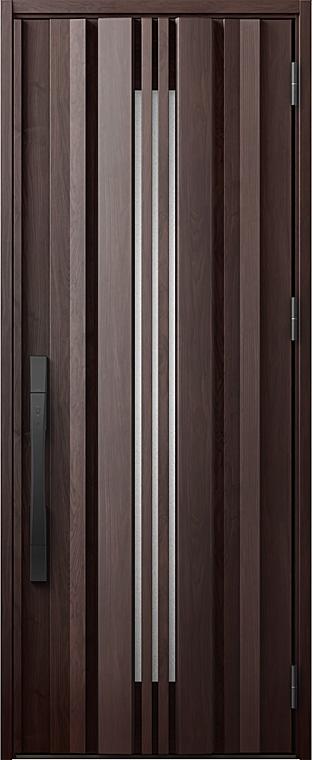 玄関ドアDA V81型 K2仕様 片開きドア 採風デザイン 特注サイズ W:924mm × H:1,813~2,330mm LIXIL リクシル TOSTEM トステム