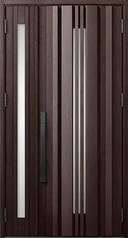 玄関ドアDA防火戸 V81型 K4仕様 親子ドア 採風デザイン 特注サイズ W:1,138~1,341mm × H:1,813~2,330mm LIXIL リクシル TOSTEM トステム