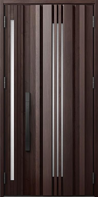 玄関ドアDA V81型 K4仕様 親子ドア 入隅タイプ 採風デザイン 特注サイズ W:1,138~1,341mm × H:1,813~2,330mm LIXIL リクシル TOSTEM トステム