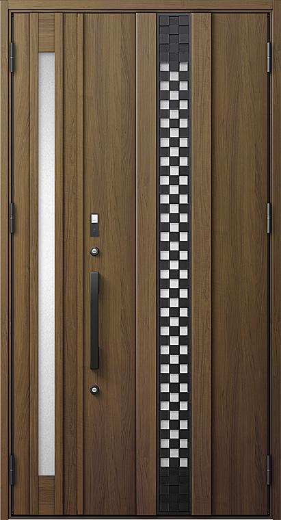 玄関ドアDA V83型 K4仕様 親子ドア FamiLockプラン仕様 採風デザイン W:1,240mm×H:2,330mm LIXIL リクシル TOSTEM トステム
